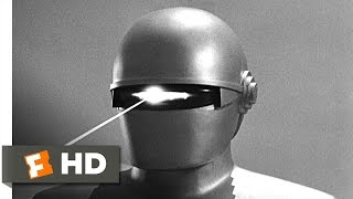 The Day the Earth Stood Still (2/5) Movie CLIP - Gort Appears (1951) HD