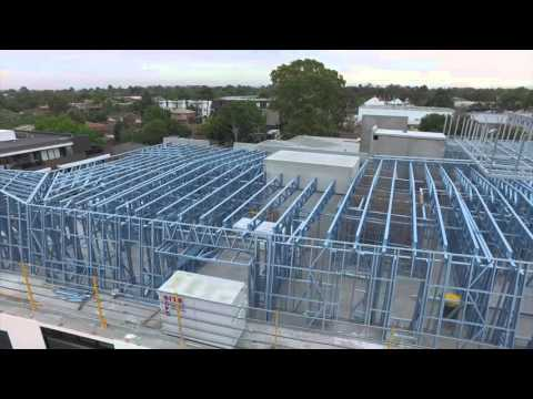 Dynamic Steel Frame - PREVIEW OF THE PARAGON APARTMENTS, BLACKBURN