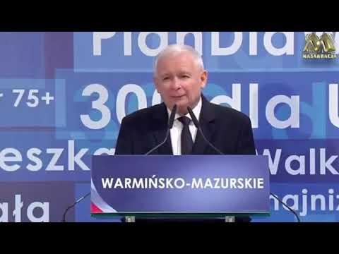 Panie Kaczyński, pan nienawidzi Polaków, pan nimi gardzi, pan jest chory z nienawiści.