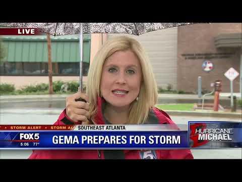 Hurricane Michael sets its sights on Georgia