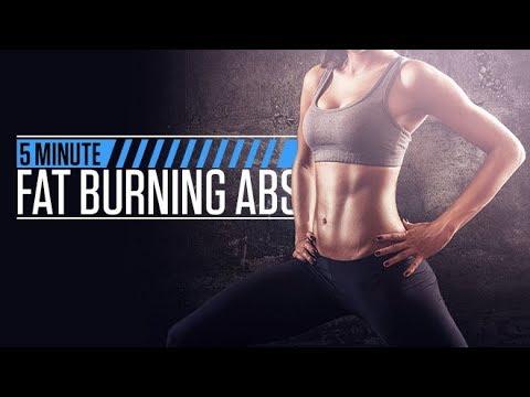 Fat burner - 5 Minute Fat Burning Abs (GUARANTEED BURN!!)