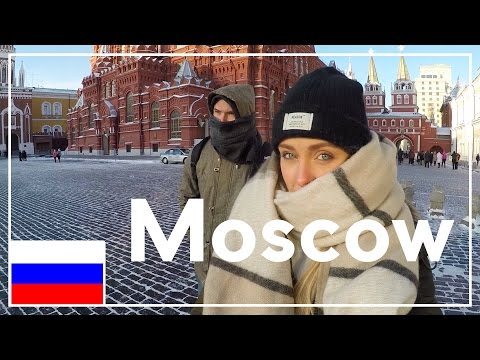 Exploring Moscow... Dangerously Cold! (видео)