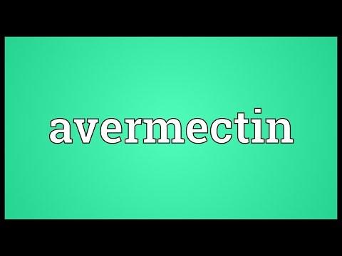 Avermectin Meaning