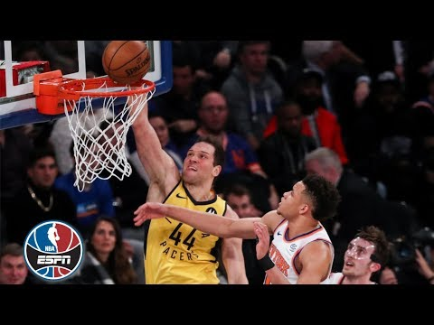 Video: The Pacers dunk all over the Knicks | NBA Highlights