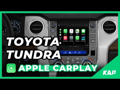 TOYOTA TUNDRA Apple Carplay !!