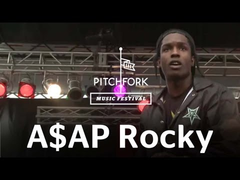 A$AP Rocky – Goldie (Live at 2012 Pitchfork Music Festival)
