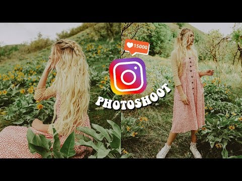 Instagram Photoshoot (Behind The Scenes)