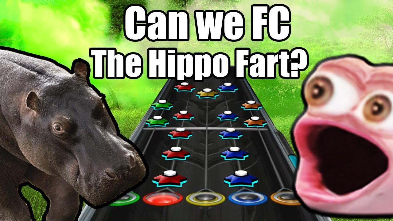 What does a Hippo FARTING look like on Guitar Hero?