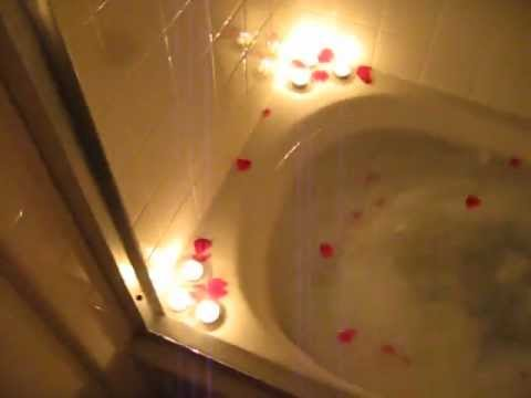 A Romantic bubble bath for my babe