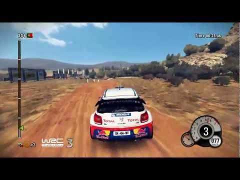 WRC 3 : gameplay au rallye Vodafone du Portugal