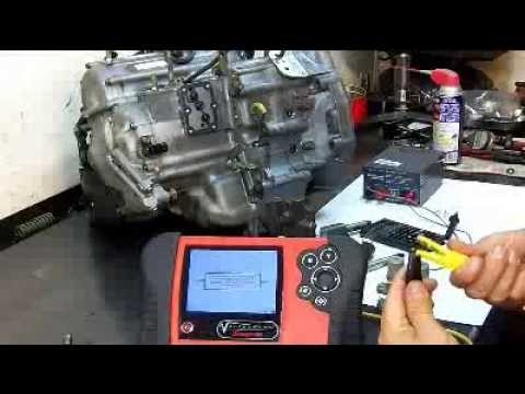 transmission pressure solenoid - Transmission Solenoid Testing. Here I use Ohms Law for testing. I believe that this is the only way to test your solenoids on or off the vehicle. Remember th...