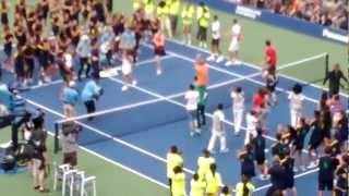 Carly Rae Jepsen- Call Me Maybe US Open Ball Kids- Arthur Ashe Kid's Day