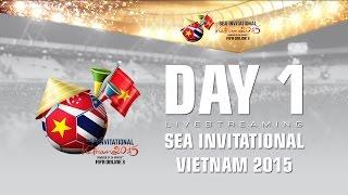 SEA Invitational Vietnam 2015 - Day 1, fifa online 3, fo3, video fifa online 3