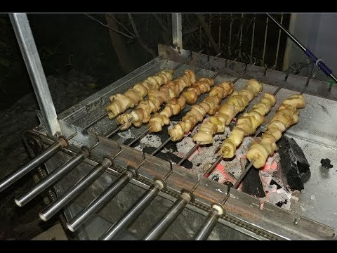 How To Make Automatic Barbecues - DIY Amazing BBQ Grill Idea