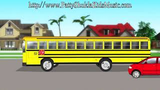 School Bus Kids Song | Nursery rhymes | Children's songs by Patty Shukla