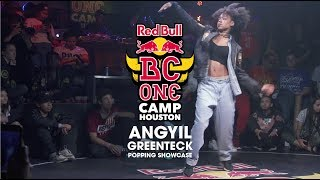 Greenteck & Angyil – Red Bull BC One Houston Popping Showcase