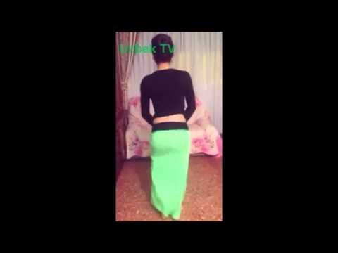 Красивая Узбечка танцует   Арабский танец   O'zbek qizining talanti bor ekan (видео)