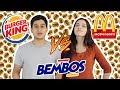 McDonald's vs Burger King vs Bembos !! l DesbalanceAdos