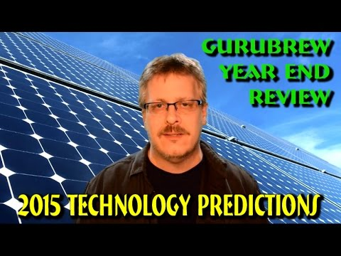 GuruBrew Year End Review and 2015 Technology Predictions