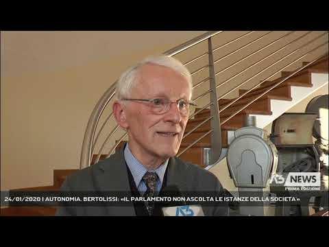 24/01/2020 | AUTONOMIA. BERTOLISSI: «IL PARLAMENTO NON ASCOLTA LE ISTANZE DELLA SOCIETA'»