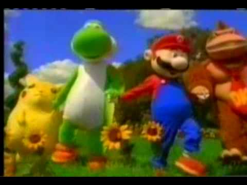 Super Smash Bros 64 commercial
