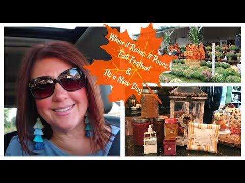 Karen's Vlog: When It Rains It Pours, Fall Festival & It's A New Day 2018