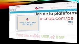 TUTORIEL NAVIGATION PLATEFORME CNAP PE