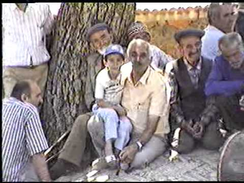 1987 YILINDA BADEMLİDE YAPILAN BİR DÜĞÜN