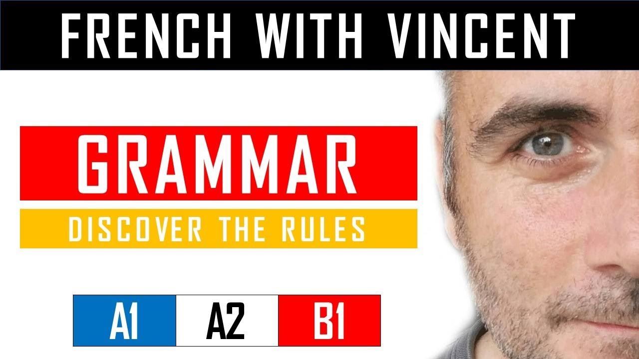 Learn French with Vincent – Unit 1 – Lesson D : Les caractères spéciaux