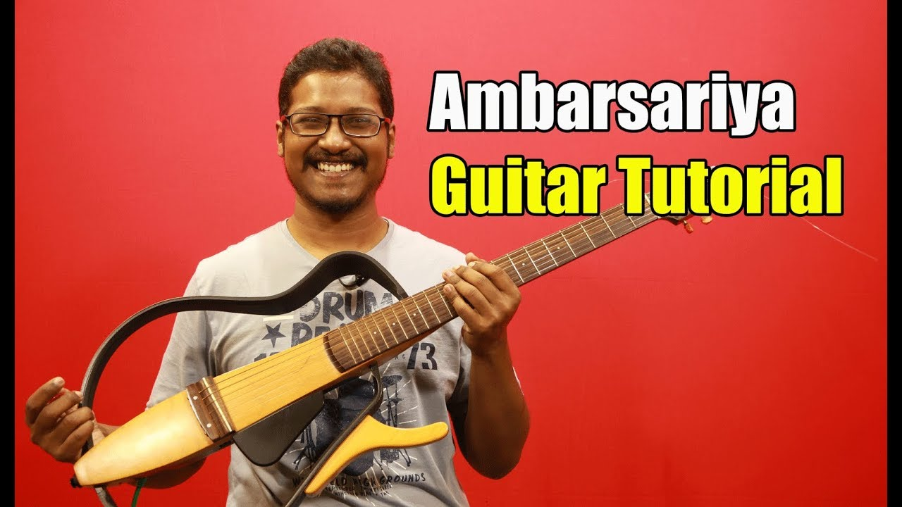 Ambarsariya (Fukrey) – Guitar Tutorial #ColourfulChords | Full Lesson