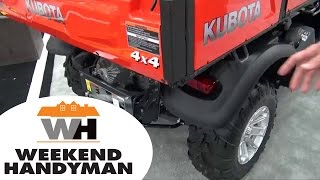 5. Kubota RTV Z1140 Side By Side Utility Vehicle | Weekend Handyman | #kubotaTracktor