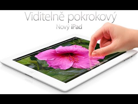 iPad 3. gen. a iOS z pohledu androiďáka