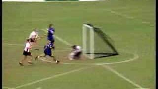 In the summer of 2001 the eyes of the Lacrosse world were focussed on High Wycombe in Buckinghamshire, the site of the Women's Lacrosse World Cup... This mem...