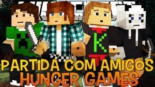 Hunger Games - Partida Random com Amigos