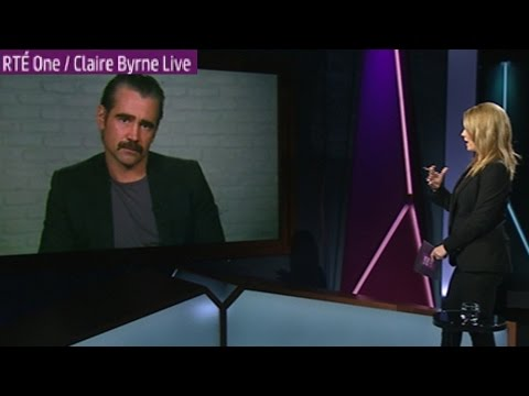 Colin Farrell speaks out in favour of same-sex marriage on Claire Byrne Live