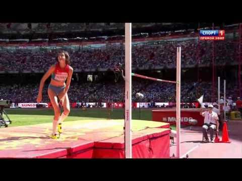 Anna Chicherova 192 HIGH JUMP WORLD CHAMIONSHIP Beijing 2015 qualification woman