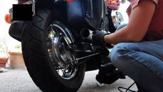 7. 2003 Honda Shadow Spirit 750 Holesaw Mod Tutorial