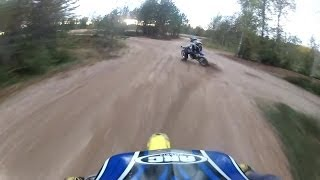 2. Suzuki RM 85 & Yamaha YZ 85 Trail Riding & Top Speed