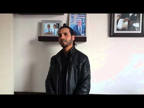 Erkan ŞİMŞEK - Boyun Fıtığı Hastası - Prof. Dr. Orhan Şen