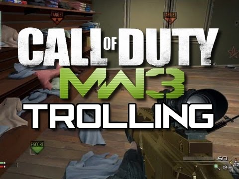 MW3 Trolling - Sharing is Caring! (Funny MW3 Moments)
