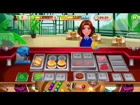 Cooking Talent - Restaurant Fever Level 7-8-9 Gameplay - Android GamePlay FHD