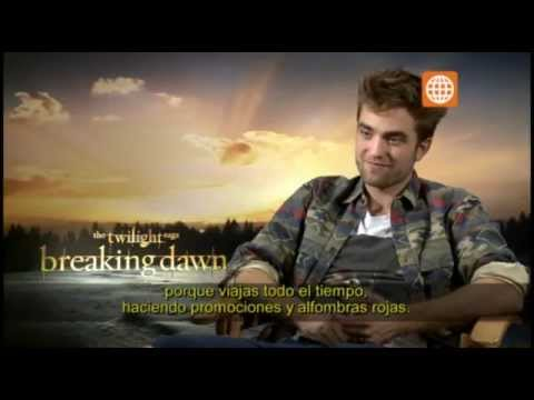 Cinescape: Entrevista a Robert Pattinson - 10/11/2012
