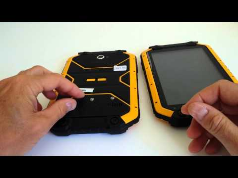 Ruggear rugpad. Rugged Android 4 tablet 7