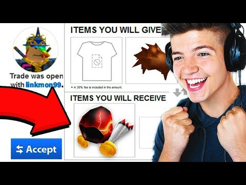 RICHEST ROBLOX PLAYER TRADES ME HIS DOMINUS! (+1 MILLION ROBUX)
