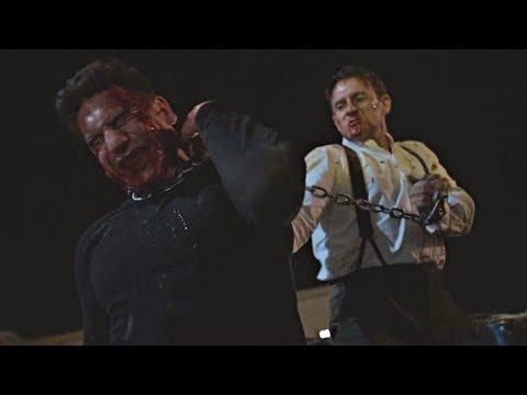 The Punisher vs John Pilgrim final fight scene { Season 2 × Episode 13} Netflix