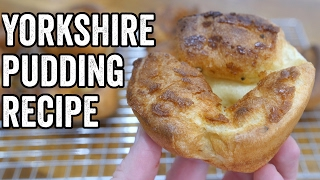 YORKSHIRE PUDDING RECIPE by  My Virgin Kitchen