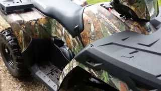 9. 2013 Polaris Sportsman 500 H.O. top speed and short look over