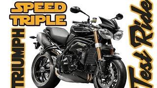 4. Triumph Speed Triple : Test Ride