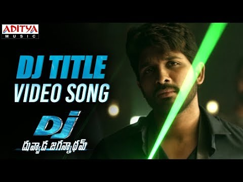 DJ Saranam Bhaje Bhaje Full Video Song | DJ Video Songs | Allu Arjun | Pooja Hegde | DSP