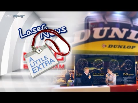 LASER NEWS EXTRA Autosport International - Aiden interviewed!